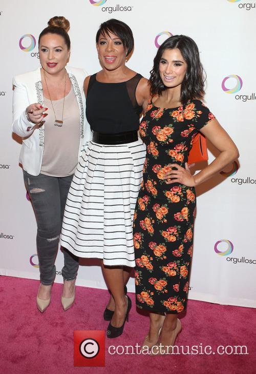 Angie Martinez, Selenis Leyva and Diane Guerrero 5