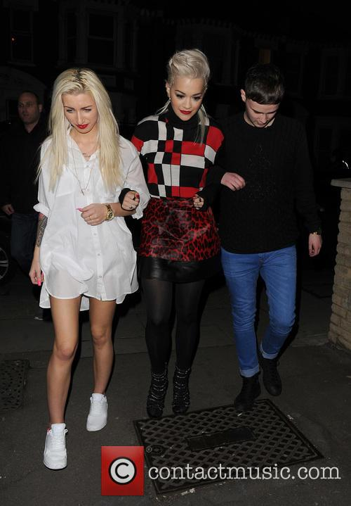 Karis Thomas, Rita Ora and Joe Woolford 3