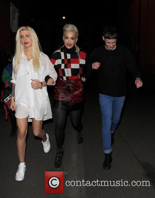 Karis Thomas, Rita Ora and Joe Woolford 6