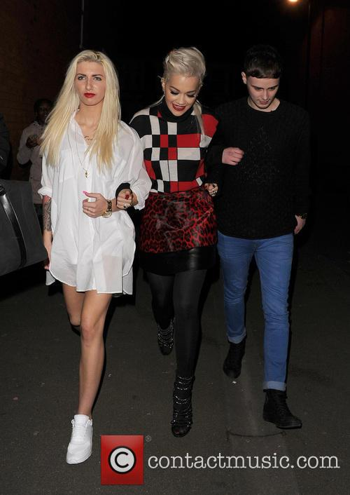 Karis Thomas, Rita Ora and Joe Woolford 7