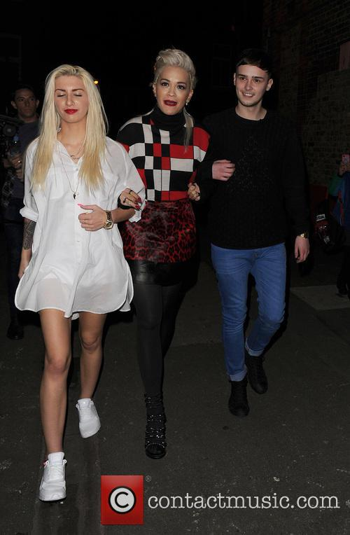 Karis Thomas, Rita Ora and Joe Woolford 10
