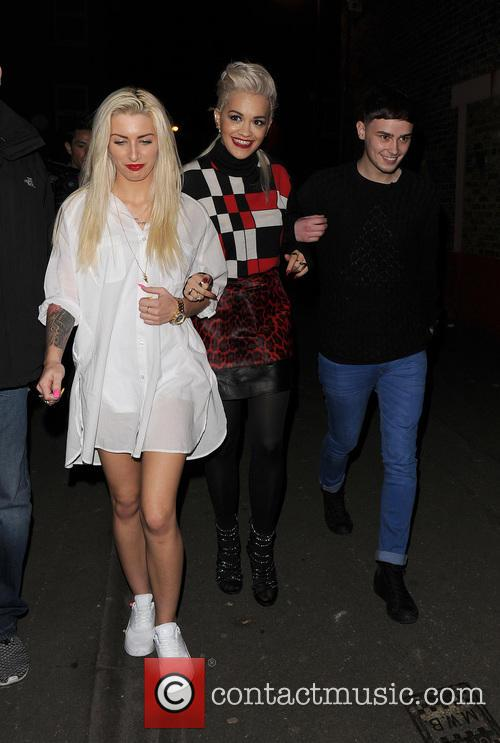 Karis Thomas, Rita Ora and Joe Woolford 11