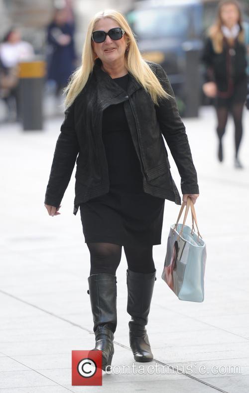 Vanessa Feltz seen at BBC Studios
