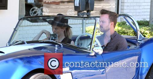 Aaron Paul and Lauren Parsekian 7