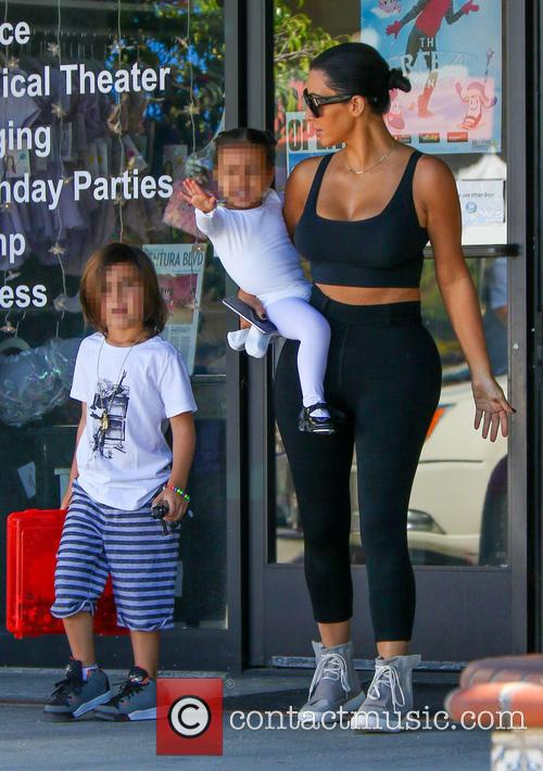 Kim Kardashian, North West and Reign Disick 9