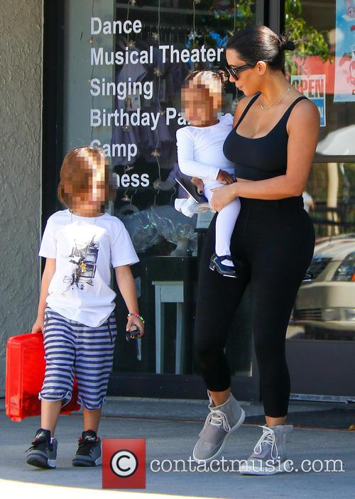 Kim Kardashian, North West and Reign Disick 11