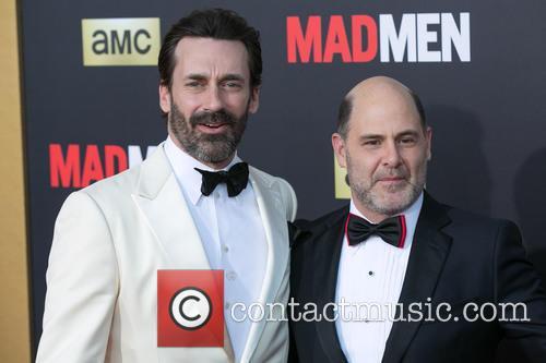 Jon Hamm and Matthew Weiner 2