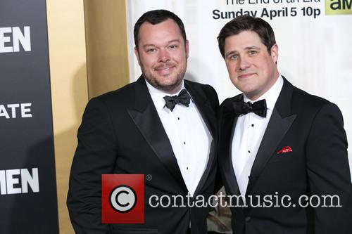 Michael Gladis and Rich Sommer 8