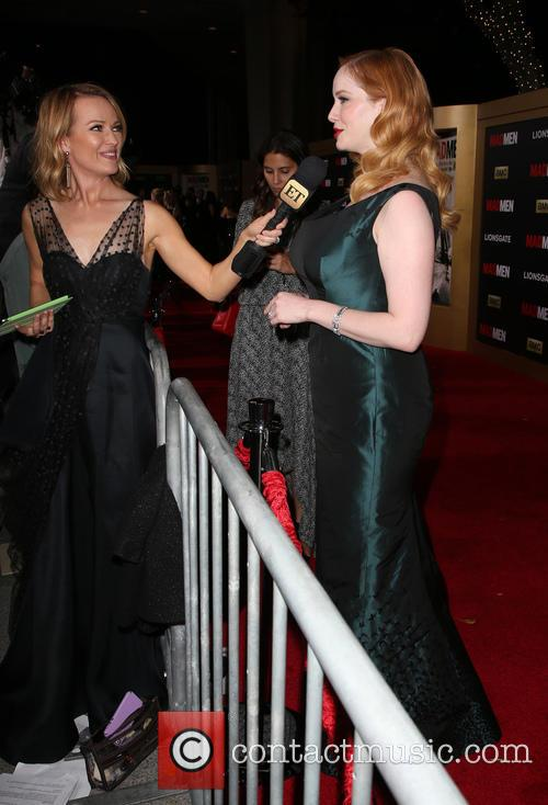 Brooke Anderson and Christina Hendricks 2