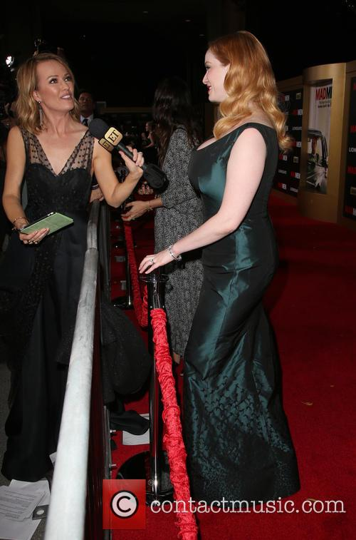 Brooke Anderson and Christina Hendricks 4