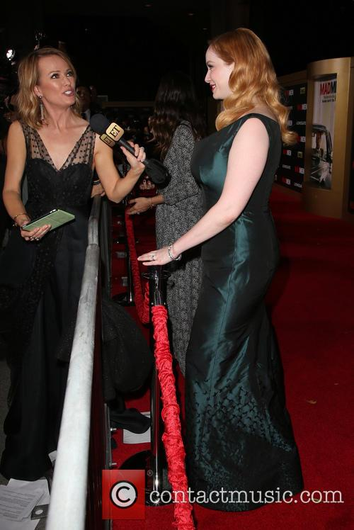 Brooke Anderson and Christina Hendricks 1