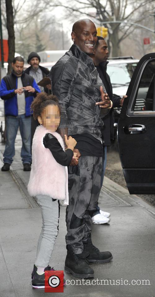 Tyrese Gibson and Shayla Gibson 8
