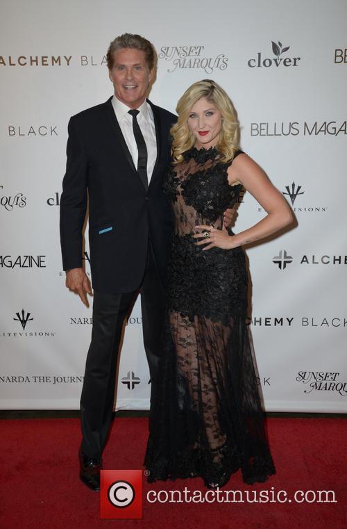 David Hasselhoff and Taylor-ann Hasselhoff 2
