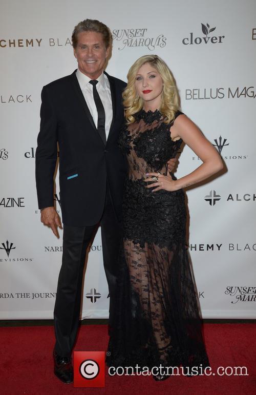 David Hasselhoff and Taylor-ann Hasselhoff