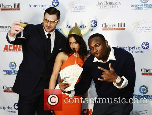 Todd Herremans, Elizabeth Dee and Lesean Mccoy 2