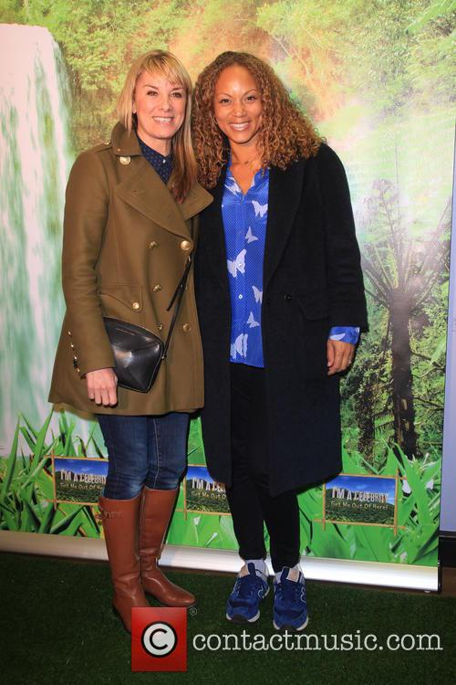 Tamzin Outhwaite and Angela Griffin 2