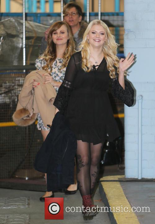 Tina O'brien and Lucy Fallon 7