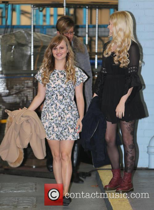 Tina O'brien and Lucy Fallon 8