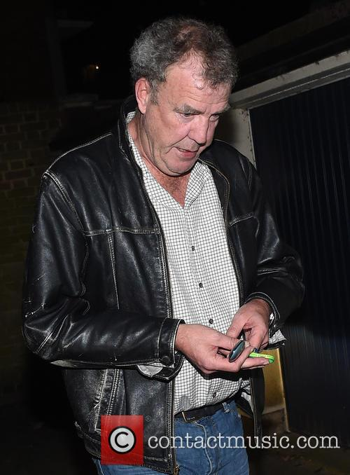 Jeremy Clarkson Arriving Home