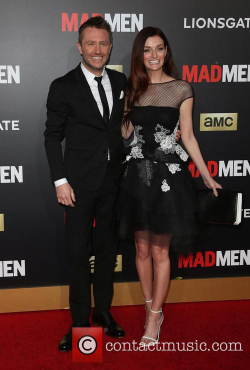 Chris Hardwick and Lydia Hearst 5