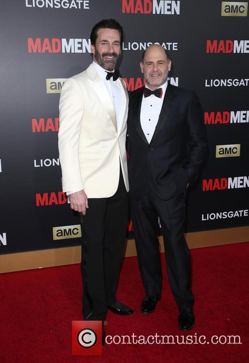 Jon Hamm and Matthew Weiner 1