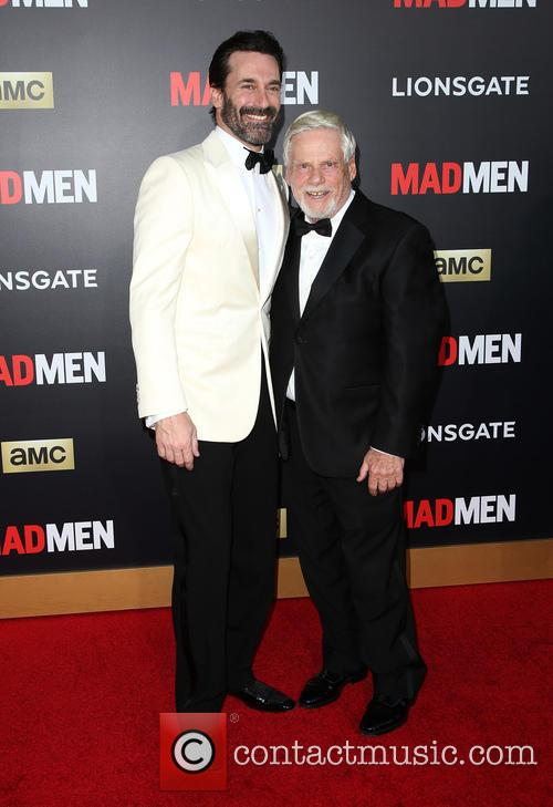 Jon Hamm and Robert Morse