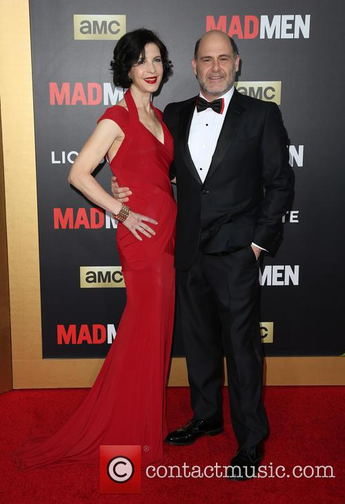 Linda Brettler and Matthew Weiner 2