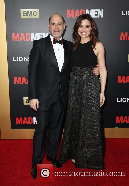 Matthew Weiner and Cara Buono 7