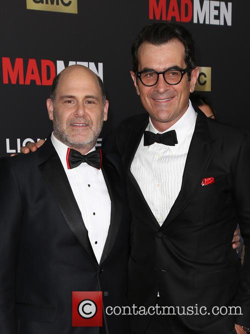 Matthew Weiner and Ty Burrell 10