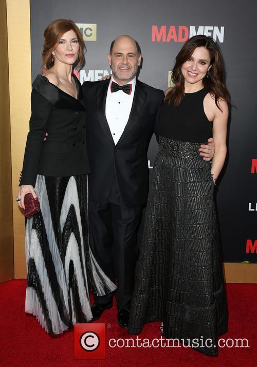 Melinda Mcgraw, Matthew Weiner and Cara Buono