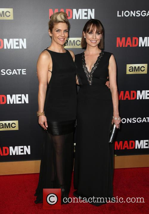 Rhea Seehorn and Julie Ann Emery 6