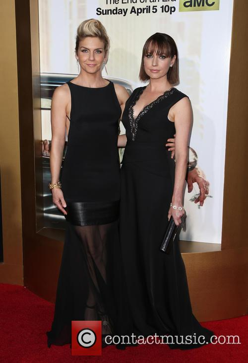 Rhea Seehorn and Julie Ann Emery 7