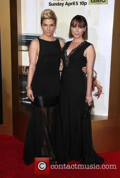 Rhea Seehorn and Julie Ann Emery 8