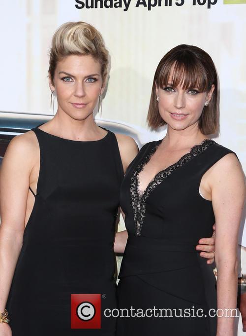 Rhea Seehorn and Julie Ann Emery
