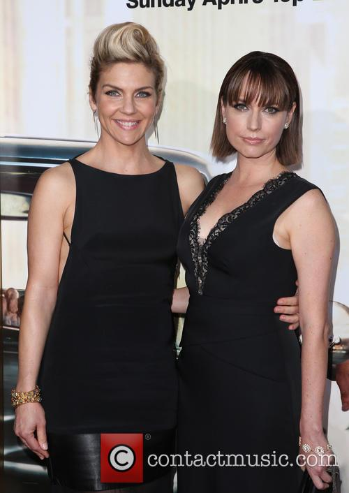 Rhea Seehorn and Julie Ann Emery 10