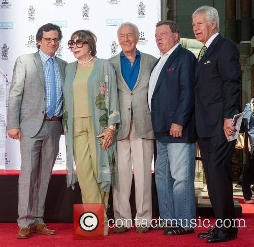 Christopher Plummer, Shirley Maclaine, William Shatner and Alex Trebek