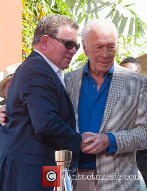 William Shatner and Christopher Plummer 3