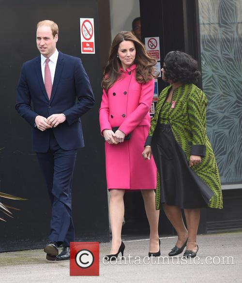 Catherine, Duchess Of Cambridge, Kate Middleton, Prince William, Duke Of Cambridge, Doreen Lawrence and Baroness Lawrence Of Clarendon 3