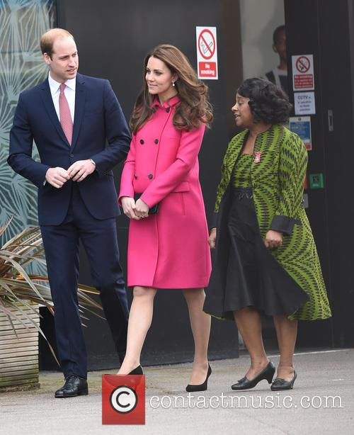 Catherine, Duchess Of Cambridge, Kate Middleton, Prince William, Duke Of Cambridge, Doreen Lawrence and Baroness Lawrence Of Clarendon 4