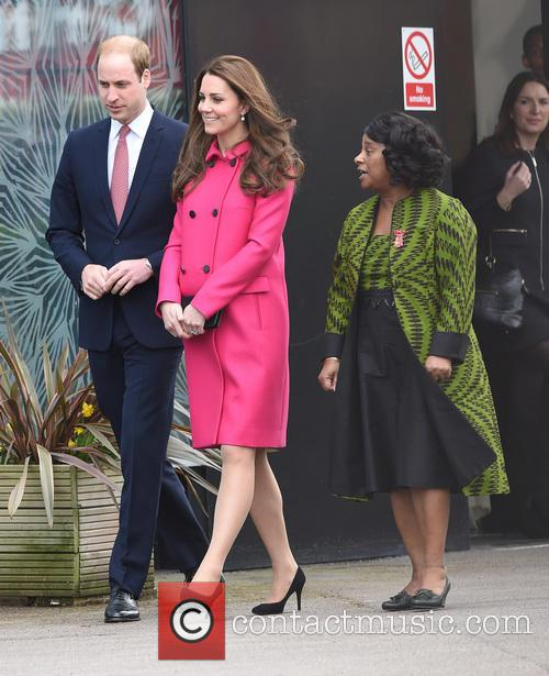 Catherine, Duchess Of Cambridge, Kate Middleton, Prince William, Duke Of Cambridge, Doreen Lawrence and Baroness Lawrence Of Clarendon 5