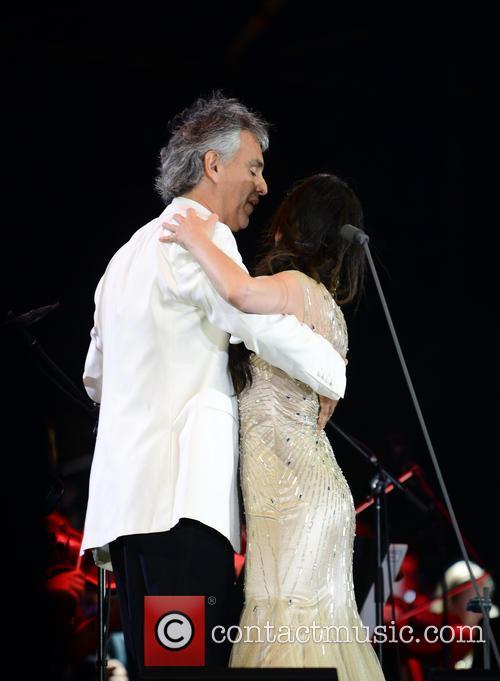 Andrea Bocelli and Maria Aleida 8