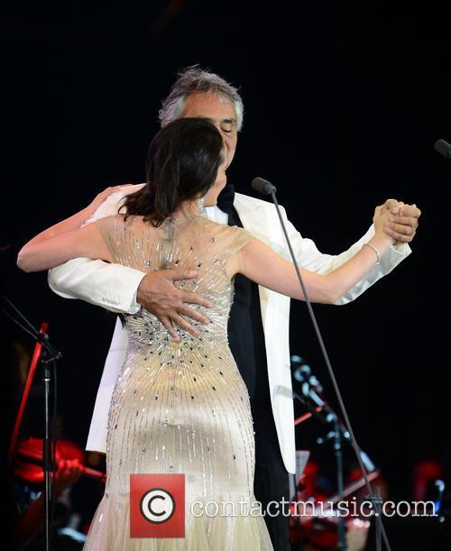 Andrea Bocelli and Maria Aleida 9