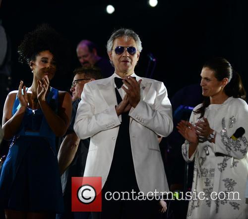 Fantine, Andrea Bocelli and Veronica Berti 6
