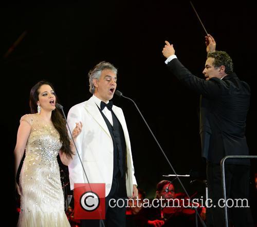 Maria Aleida, Andrea Bocelli and Eugene Kohn 6