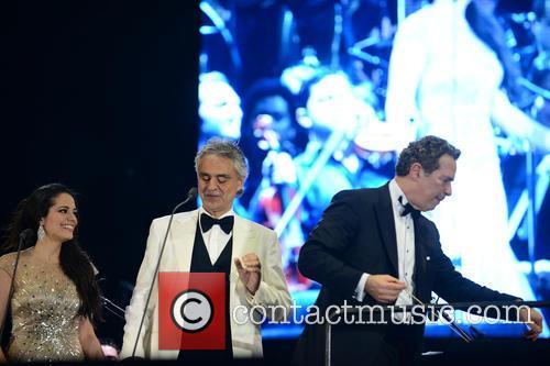 Maria Aleida, Andrea Bocelli and Eugene Kohn 7