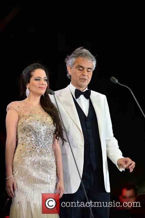 Maria Aleida and Andrea Bocelli 2