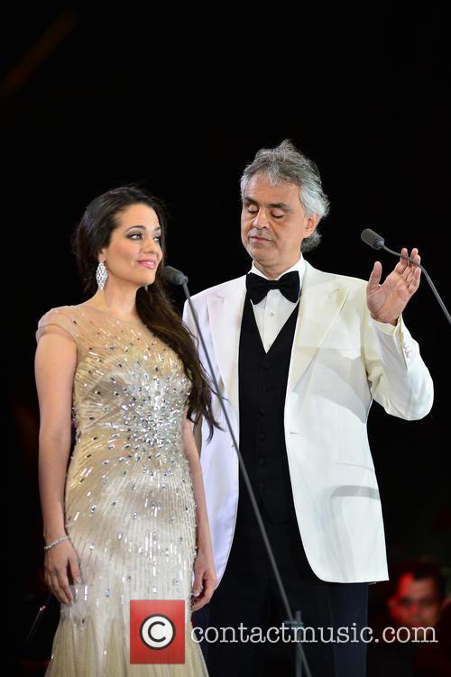 Maria Aleida and Andrea Bocelli 3