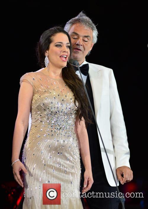 Maria Aleida and Andrea Bocelli 4