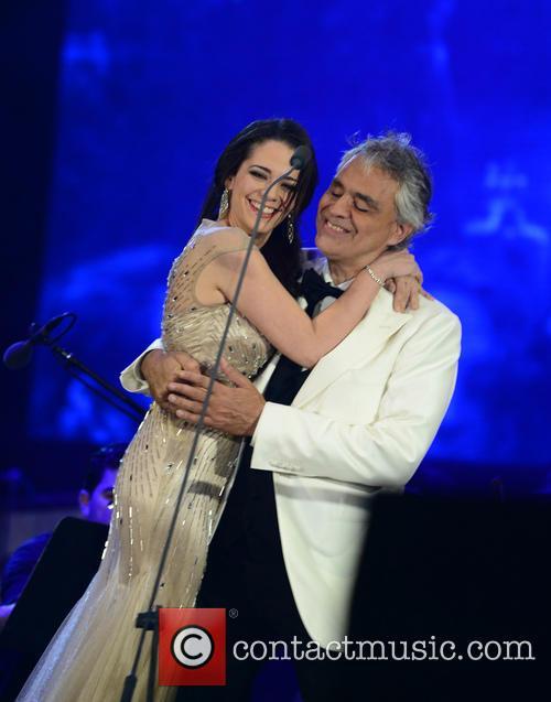 Maria Aleida and Andrea Bocelli 8
