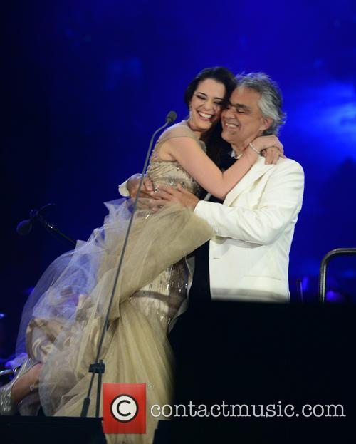 Maria Aleida and Andrea Bocelli 1